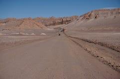 Vale da lua, Atacama, o Chile Imagens de Stock