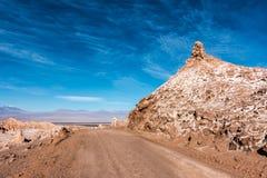 Vale da lua, Atacama, o Chile fotos de stock