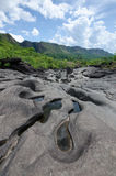 Vale DA Lua en parc national de DOS Veadeiros de Chapada Photographie stock libre de droits