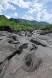 Vale da Lua nel parco nazionale del DOS Veadeiros di Chapada Fotografia Stock Libera da Diritti