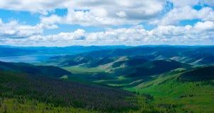 Vale da montanha Foto de Stock