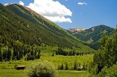 Vale da montanha de Colorado - 1 Imagem de Stock