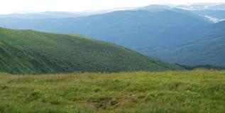 Vale das montanhas Imagens de Stock