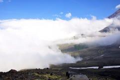 Vale das nuvens Imagem de Stock