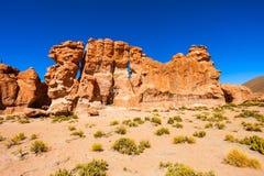 Vale das rochas, Bolívia Imagem de Stock