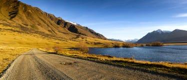 Vale de Ahuriri, Nova Zelândia fotos de stock royalty free