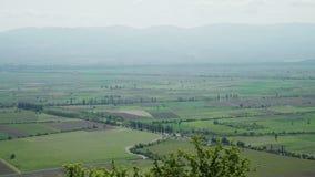 Vale de Alazani, região de Kakheti, Geórgia video estoque