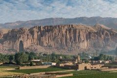 Vale de Bamyan, Sunrice Fotografia de Stock