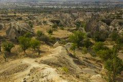 Vale de Cappadocia Imagens de Stock
