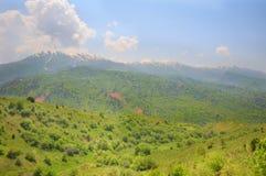 Vale de Chimgan fotografia de stock