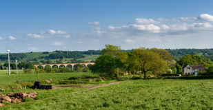Vale de Crimple - Harrogate, North Yorkshire, Reino Unido Fotografia de Stock