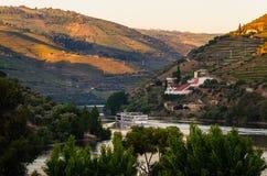 Vale de Douro do rio, Portugal imagem de stock