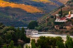 Vale de Douro do rio, Portugal foto de stock