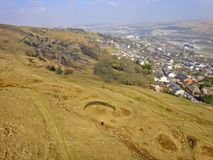 Vale de Ebbw, Gales Fotos de Stock Royalty Free
