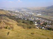 Vale de Ebbw, Gales Foto de Stock