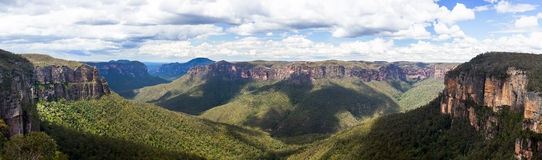 Vale de Grose em montanhas azuis Austrália Fotografia de Stock Royalty Free