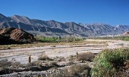 Vale de Humahuaca, Salta, Argentina fotografia de stock