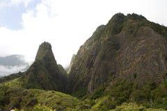 Vale de Iao, Maui, Havaí Foto de Stock Royalty Free