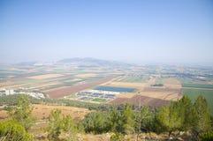 Vale de Jezreel Foto de Stock Royalty Free