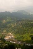 Vale de Jhalong - Jhalong, Bengal ocidental, Índia Fotografia de Stock Royalty Free