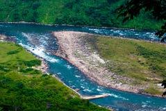 Vale de Jhalong - Jhalong, Bengal ocidental, Índia Fotos de Stock