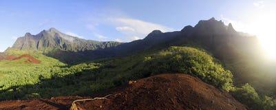 Vale de Kalalau Foto de Stock
