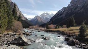 Vale de Karakol em Kyrgzystan Foto de Stock Royalty Free