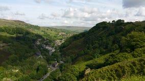 Vale de Lancashire imagem de stock royalty free