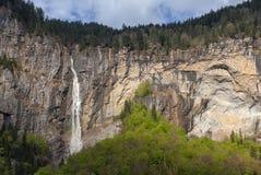 Vale de Lauterbrunnen em Switzerland Imagem de Stock