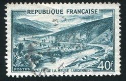 Vale de Meuse fotos de stock royalty free