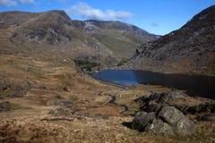 Vale de Ogwen Foto de Stock
