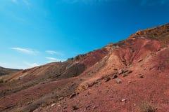 Vale de paisagens de Marte fotografia de stock royalty free