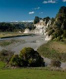 Vale de Rangitikei Fotografia de Stock Royalty Free