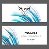 Vale de regalo Vector, ejemplo Fotos de archivo libres de regalías