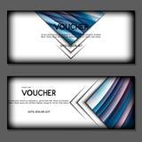 Vale de regalo Vector, ejemplo Imágenes de archivo libres de regalías