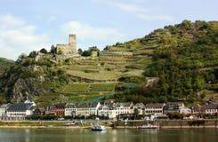 Vale de Rhine, ligado Fotografia de Stock
