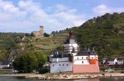 Vale de Rhine, ligado Imagem de Stock Royalty Free