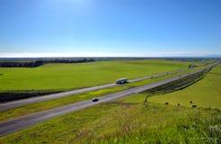 Vale de San Joaquin Imagem de Stock Royalty Free