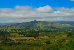 Vale de Santa Ynez foto de stock royalty free