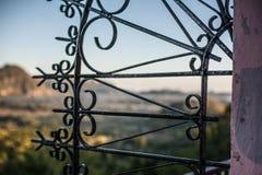 Vale de Vinales, detalhe arquitetónico foto de stock