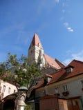 Vale de Wachau da igreja do Spitz Imagem de Stock Royalty Free