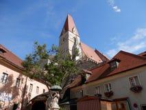 Vale de Wachau da igreja do Spitz Imagem de Stock