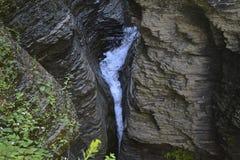 Vale de Watkins, parque estadual de NY Fotografia de Stock Royalty Free
