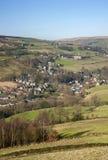 Vale de Yorkshire na mola adiantada fotografia de stock royalty free