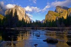 Vale de Yosemite Fotos de Stock Royalty Free