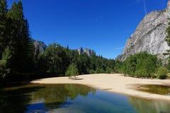 Vale de Yosemite - Califórnia imagem de stock