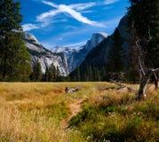 Vale de Yosemite na opinião do túnel Fotos de Stock Royalty Free