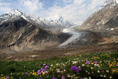 Vale de Zanskar Foto de Stock