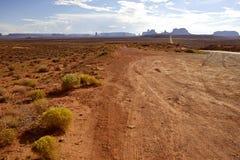 Vale do Arizona Fotografia de Stock