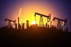Vale do combustível Foto de Stock Royalty Free